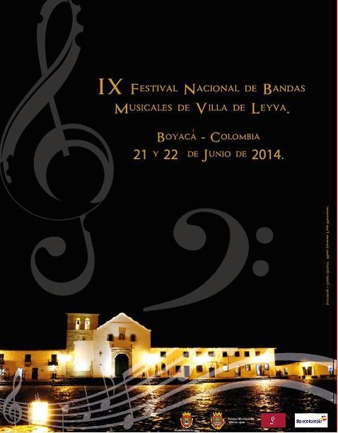 IX Festival Nacional de Bandas Musicales de Villa de Leyva