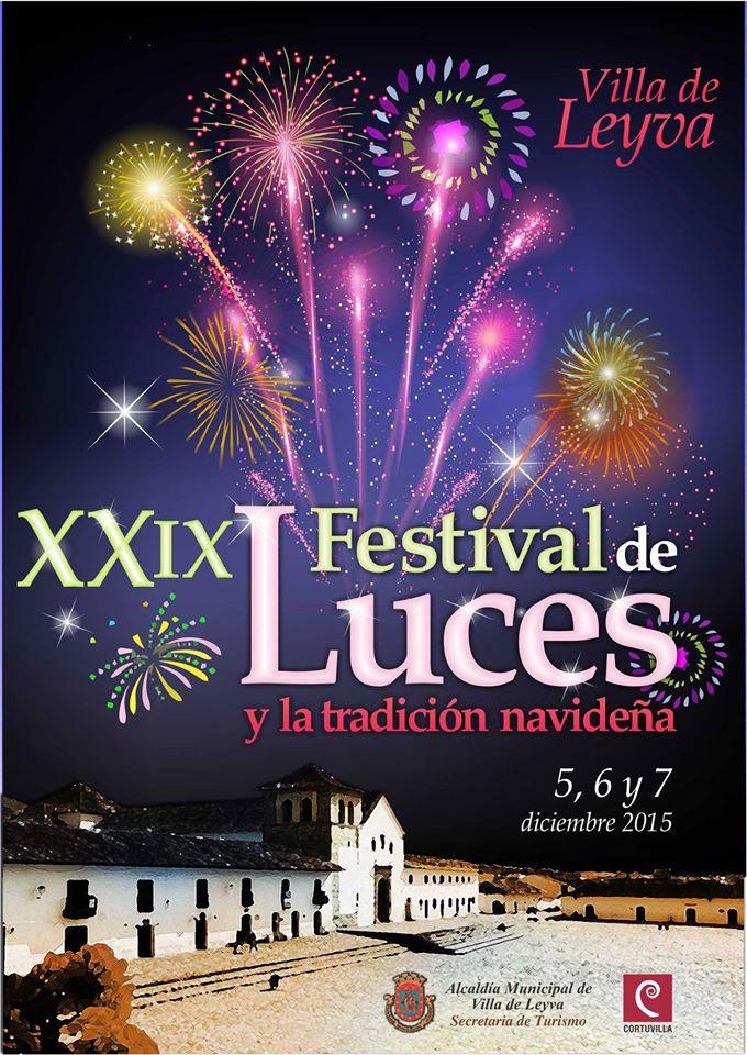 XXIX Festival de Luces de Villa de Leyva