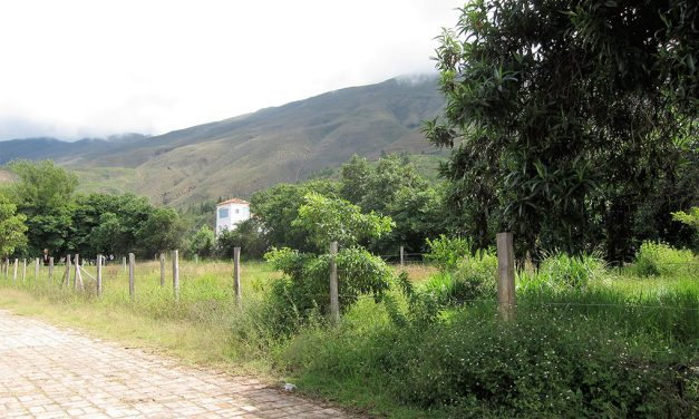 Hermoso lote de 1.000 M2 casi urbano en Villa de Leyva
