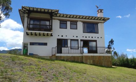 Hermosa casa para estrenar a 4 kms de Villa de Leyva